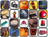 Fire Safety Picture Matching/Flashcards for Autism