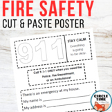 Fire Safety Poster Cut and Paste