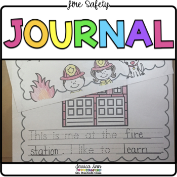 Fire Safety {Predictable Writing Journal}