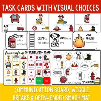 Fire Safety Preschool Language Unit