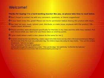 Fire Safety Preschool Activity Packet
