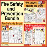 Fire Safety & Prevention Puzzle Bundle – 3 Themed Activity Sets