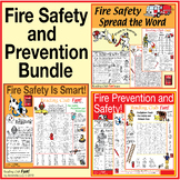 Fire Safety & Prevention Puzzle Bundle – Themed Activity S