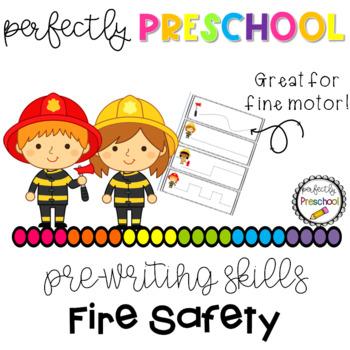 Fire Safety Prewriting Skills {Dollar Deal}