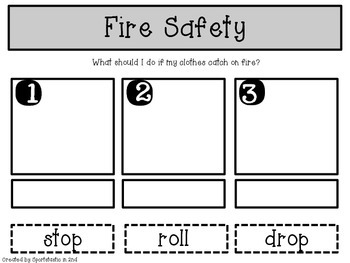 Fire Safety Primary Printables