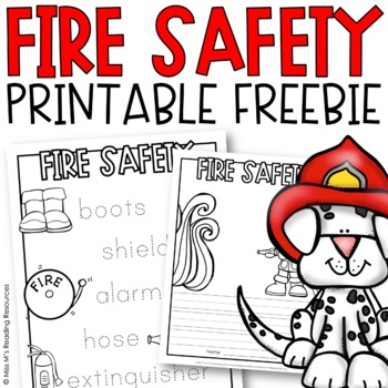 Fire Prevention Week Coloring Pages - Coloring Home | 350x350