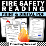 Fire Safety Rules, Finger Plays Rhymes & Songs for Fire Sa