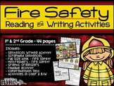 Fire Safety Reading and Writing Activities