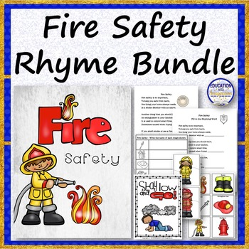 Fire Safety Rhyme Bundle