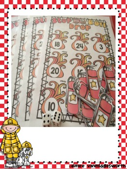 Fire Safety Roll and Cover for Multiplication Center Activity