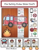 Fire Safety Rules: Fire Truck Slider Craft & Fire Safety Posters