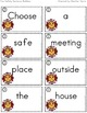 Fire Safety Sentence Builders