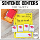 Sentence Building Fire Safety
