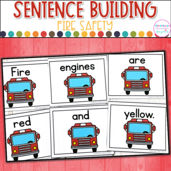 Fire Safety Sentence Scramble