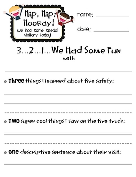 Fire Safety Sheets