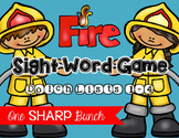 Fire Safety - Sight Word Game