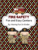 Fire Safety - Fun and Easy Centers