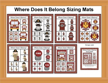 Fire Safety Sizing Mats