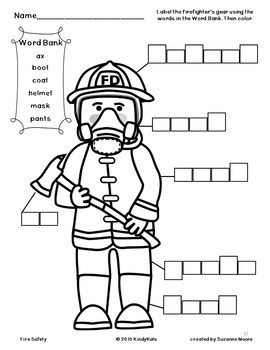 Fire Safety, Fire Prevention, Firefighters, 911, Songs, Printables