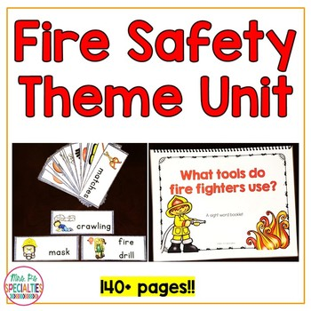 Fire Safety: Special Ed Thematic Unit (Autism & Special Ed
