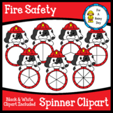 Fire Safety Spinner Clipart