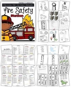 Fire Safety Station (5-day Thematic Unit)