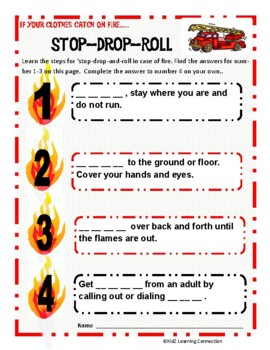 Fire Safety: Stop -  Drop  -  Roll