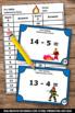 Kindergarten Subtraction Task Cards, Fire Safety Week Activities
