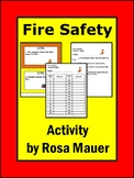 Fire Safety True or False Task Cards