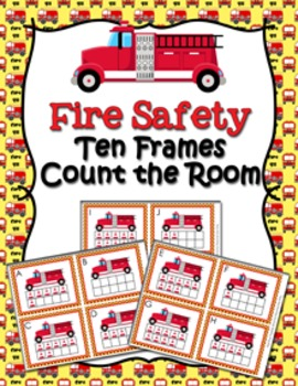 Fire Safety Ten Frames Count the Room