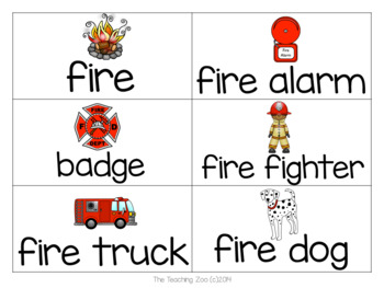 Fire Safety Theme Learning Pack