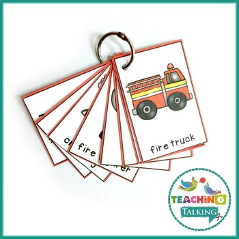 Fire Safety Theme Vocabulary Activities