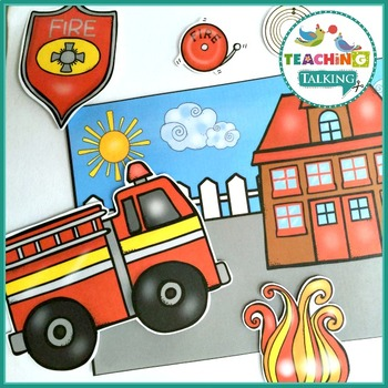 Fire Safety Vocabulary Activities