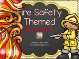 Fire Safety Themed Math Centers