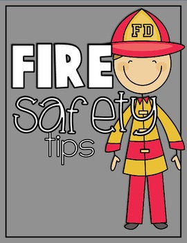 Fire Safety Tips Class Book