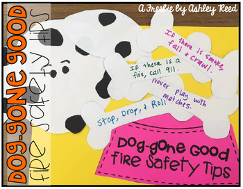 Fire Safety Tips FREEBIE