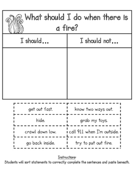 Fire Safety Tri-Fold