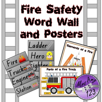Fire Safety Unit - Great for fire prevention week!