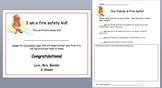 Fire Safety Unit- Kindergarten