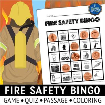 Fire Safety Bingo