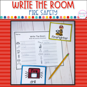 Fire Safety Write The Room Cards