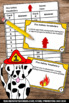 Fire Safety Activities, Life Skills Special Education Vocabulary Task Cards