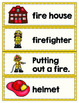Fire Safety Vocabulary Words {FREE Printable}