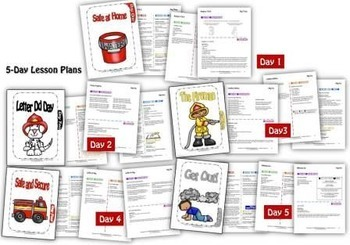 Fire Safety Week {5-day Thematic Unit}