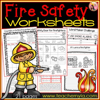 Fire Safety Week Activities