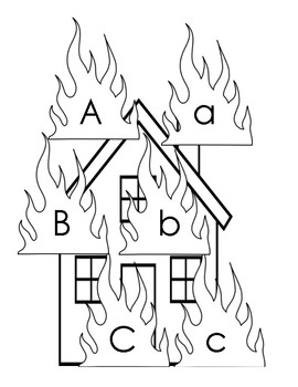 Fire Safety Week Fire Letters A-Z