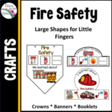 Fire Safety Week - Fire Safety Crowns, Banners and Mobiles