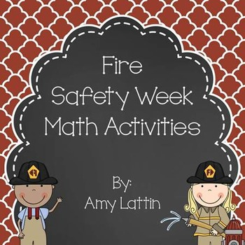 Fire Safety Week Math Activities