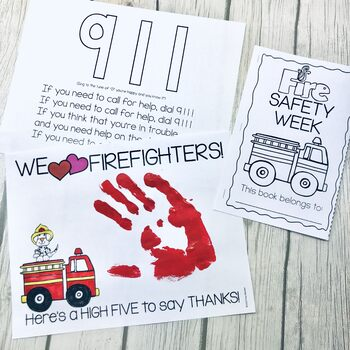 Fire Safety Week Mini-booklet & Appreciation Gift