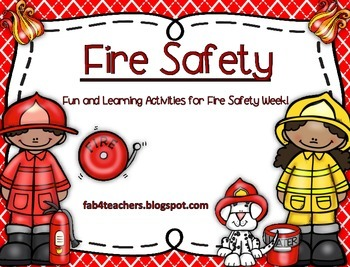 Fire Safety Week...With Fun and Learning Activities for Fire Safety Week!